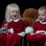 Children Christmas Photo shoot. Barn fotografering jul.