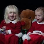 Children Christmas Photo shoot. Barnfotografering jultomte.