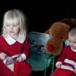 Children Christmas Photo shoot. Julfotografering av barn.