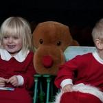 Children Christmas Photo shoot. Julfoto av barn.