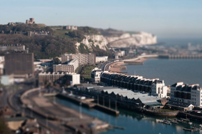 Dover Harbour White Cliffs