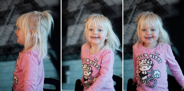 Un Duex Trois - Girl swinging her hair
