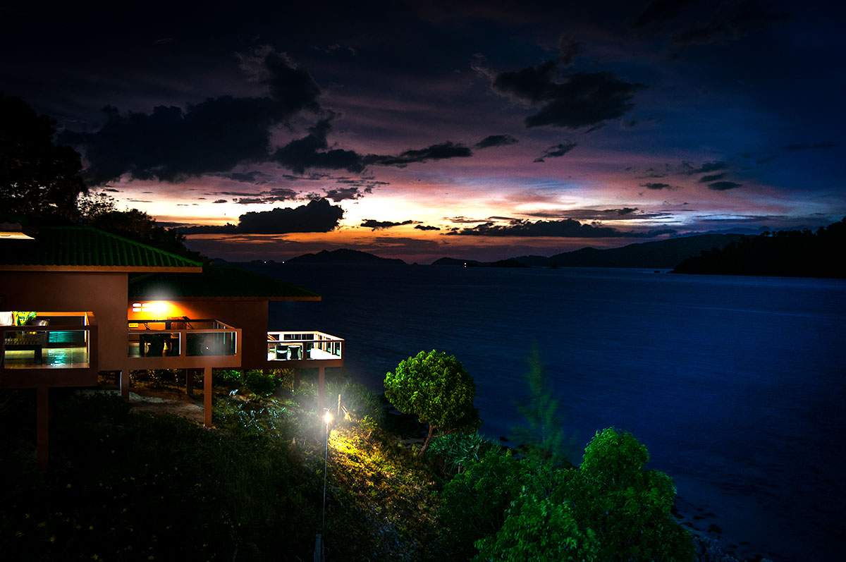 mountain-resort-koh-lipe-sunset